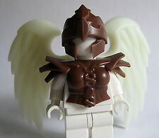 Custom HARPY Armor Helmet & GLOW in DARK Wings for Lego Minifigures Mythology