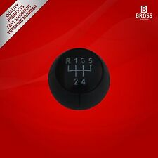 5-Speed Gear Shift Stick Knob Black For Opel Vectra B, Vectra C, Astra G, Corsa