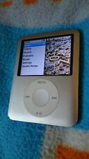 Apple Ipod Nano 3rd Generación Plateado (4 GB) - Buen Estado, Ganga!