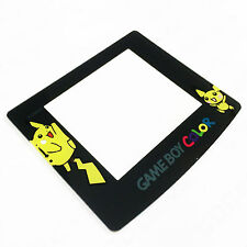 Nintendo Game Boy Color GBC Screen Lens Protector Pokemon Pikachu MINT NEW