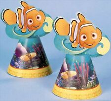 FINDING NEMO Ocean Fun CONE HATS (8) ~ Birthday Party Supplies Favors Disney