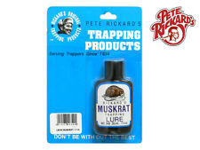 PETE RICKARD - NEW LIQUID 1 1/4 OZ. MUSKRAT TRAPPING LURE SCENT - LB349