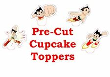 astro boy X24 edible stand up cup cake toppers wafer paper *pre-cut*
