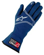 Alpinestars Tech 1 Race Auto Racing Gloves   Blue   Size Small       FIA