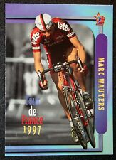 Tour de France  Lotto  Marc Wauters      Action Photo Card VGC