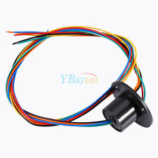 New 12.5mm 300Rpm Capsule Slip Ring 6 Circuits Wires*2A 240V Test Equipment