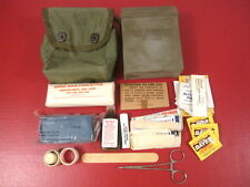 post-Vietnam Era US Army Individual First Aid Kit w/Insert and Supplies