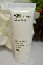 NEW Dr. Andrew Weil for Origins Mega-Bright Skin illuminating Moisturizer 0.5 oz