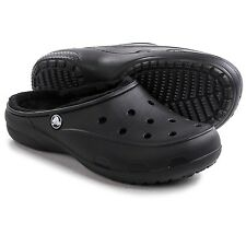 Crocs Freesail Black Lined Clog (Women's) Size 7M Medium NWT New With Tags