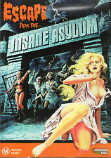 Escape From The Insane Asylum DVD Massacre Video Night of Terror SOV Horror