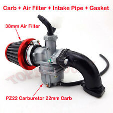 22mm Carb PZ22 Carburetor Filter Intake Pipe 110cc 125cc CRF50 SSR Pit Dirt Bike