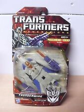 "NEW TRANSFORMERS GENERATIONS THUNDERWING 6"" DELUXE CLASS FIGURE RARE HTF EX++"