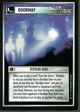 STAR TREK CCG ALTERNATE UNIVERSE RARE CARD DEVIDIAN DOOR
