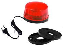 LED Strobo Lampe Leuchte Blitzleuchte    Blitzlampe 220V inkl. Kabelstecker