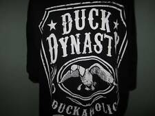 Mens Black DUCK DYNASTY Family DUCKAHOLIC M T Shirt 100 Proof NEW Medium
