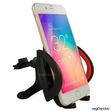 Universal Easy One Touch Car Mount Holder For iPhone Android Phone GPS Black/Red