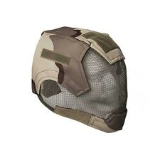 ALEKO Air Soft Protective Mask Full Mesh Wire Full Face Desert Design