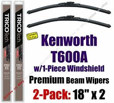 Wipers 2pk Premium - fit 2007 Kenworth T600A w/1-Piece Windshield - 19180x2