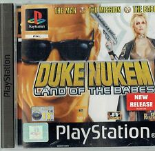 Duke Nukem Land Of Babes (Sony PlayStation 1, 2001) - European Version