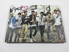 GOT7 K-POP 2nd Mini Album GOT♡ Signed Opened CD [NO Alphabet Chip] Autographed