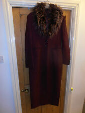 Stunning Karen Millen Long Coat/jacket size UK 12. Worn only once for a Wedding.