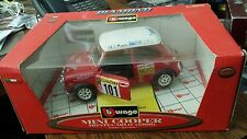 Burago 1/18 Scale diecast Mini Cooper Monte Carlo Rally 1994 Best price on Ebay!