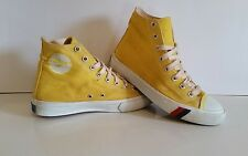 Vintage PRO KEDS Yellow High Top Sneakers Shoes Mens Size 5/Womens Size 6.5
