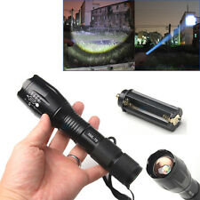 5 Mode 2000 Lumen CREE XML T6 LED Zoomable Flashlight Focus Torch 18650/3 AAA US