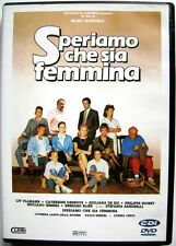 Dvd Speriamo che sia femmina di Mario Monicelli 1986 Usato raro fuori cat.