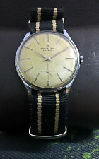 BREITLING GENEVE VINTAGE 40th RARE 17J SWISS WATCH.