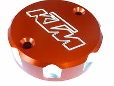 KTM 1290 Super Duke R  FRONT BRAKE MASTER CYLINDER SCREW TOP LID CAP ORANGE B12C