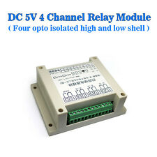 DC5V 4 Relay Module Four Channels Light Coupling Isolation of High/Low Level