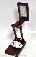 21 SMD LED Folding Desklamp Red