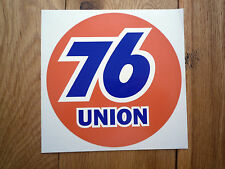 UNION 76 9 inch Classic Style Car Sticker Race Sponsor Racing Nascar Petrol Pump
