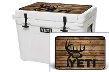 YETI Cooler Wrap Skin Decal 24mil for Tundra 65qt Lid Buck Crosshair Hunt