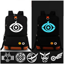 Kamen Masked Rider Gaim Kuuga School Shoulder Bag Cosplay Luminous Backpack Gift