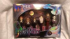 Harry Potter 6 PEZ Collector's Series Box Gift Set Limited Edition Limited NIB