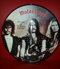 LP MOTORHEAD - IRON FIST AND THE HORDES FROM HELL - PICTURE DISC - NUOVO