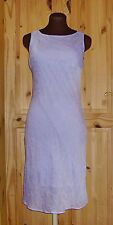 Lilac crinkle wedding bridesmaid prom party cocktail kneelength evening dress 10