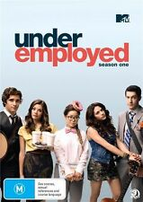 UNDEREMPLOYED Season 1 NOT SEALED DVD 2014 3-Disc SetREGION 4 Free postage M R4
