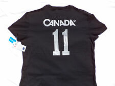 CANADA 2011 Olympic Rings & Torch Mens Black T-shirt Size Large New With Tags