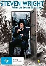 STEVEN WRIGHT - WHEN THE LEAVES BLOW AWAY (DVD, 2007) BRAND NEW!!! SEALED!!!