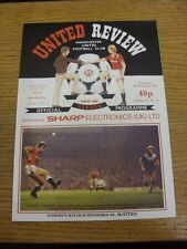 06/11/1985 Manchester United v Norwich City [Screen Sport Super Cup] . Thanks fo