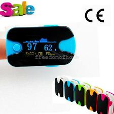 Pulse Oximeter Oximetery blood oxygen Monitor Audio Alarm +Lanyard [ US SHIP]