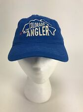 The Colorado Angler Hat Cap Silverthorne Fly Fishing USA Embroidery Blast
