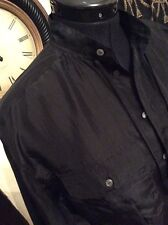 RALPH LAUREN POLO WOMENS ELLIE SILK BLOUSE.  BLACK.  SIZE: XS.  RRP:£160