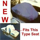 Back To Back Marine Boat Seat Cover,Blue Polyester,Taylor Made,Pontoon Bench,New