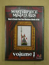 Masterpiece Miniatures Volume 1 How to Paint Miniatures 3 DVD Set