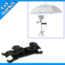 Photography Studio Lighting Umbrella Holder / Clamp Clip for Tripod Light Stand