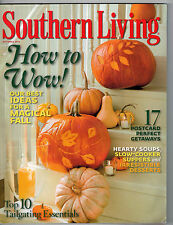 Southern Living 2010 Halloween Decorating with Pumpkins Soups Apple Cake Recipes